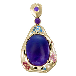 18k Sugilte Dream Pendant