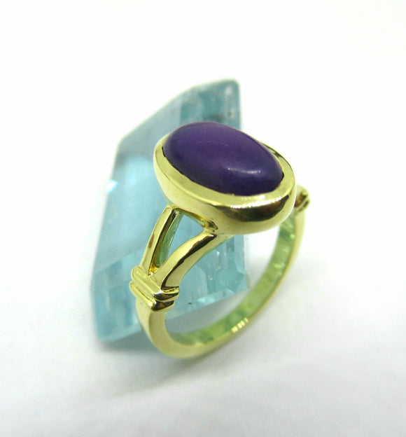 Purple Haze 18k Gold Sugilite Ring