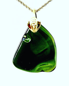 18k Polished Moldavite
