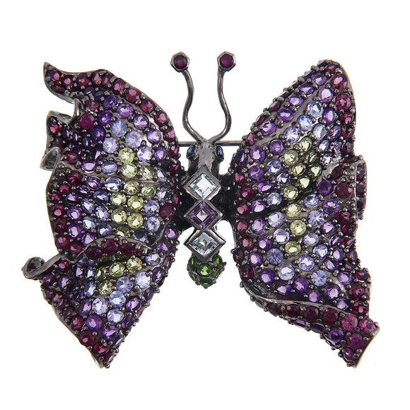 Sterling Silver Butterfly Broach