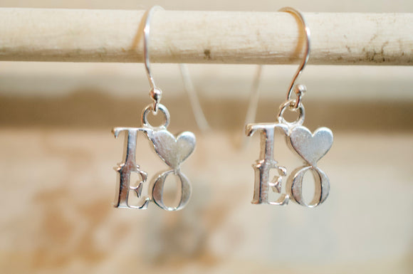 Lord, You Can See It's True TLEO Silver Earrings