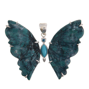 Sterling Silver Turqoise Butterfly