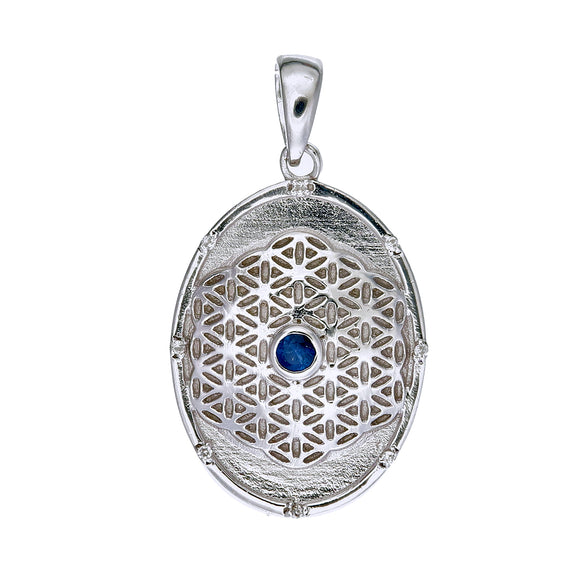 Flower of Life Pendant oval
