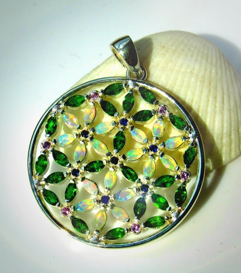 Summer's here Flower of Life mandala (mini)