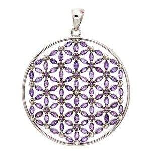 Flower of Life/108 stones/Amethyst dream