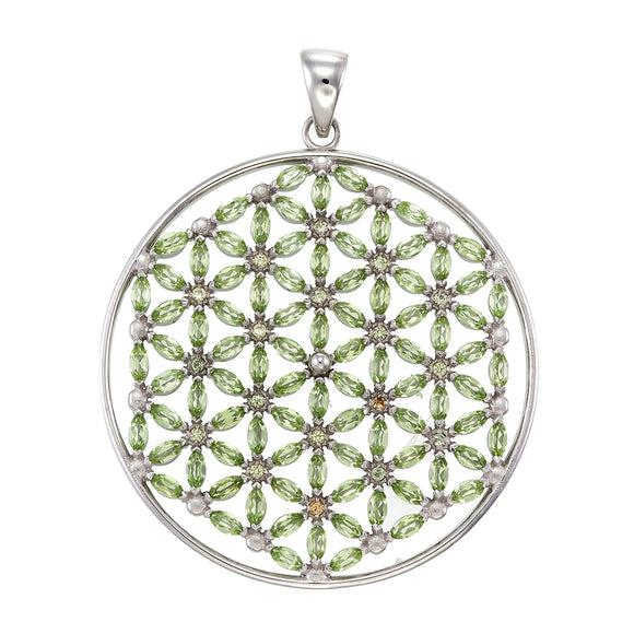 Flower of Life with 108 stones
