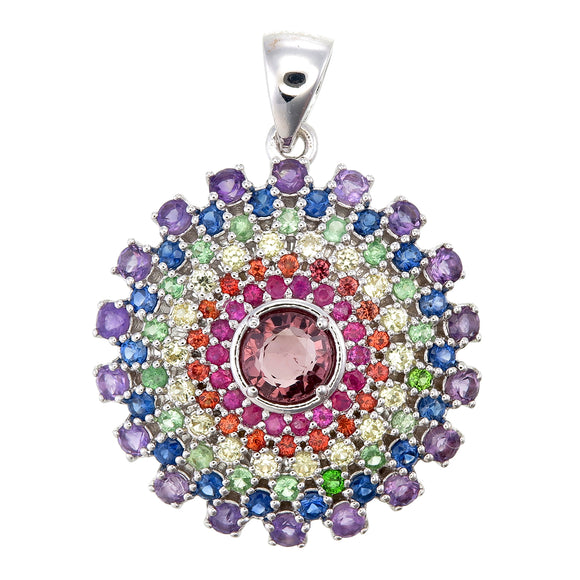 Love Light Mandala Pendant #1