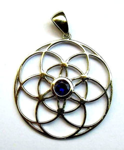 Seed of Life with Iolite