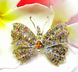 Sterling Silver Sapphire Butterfly