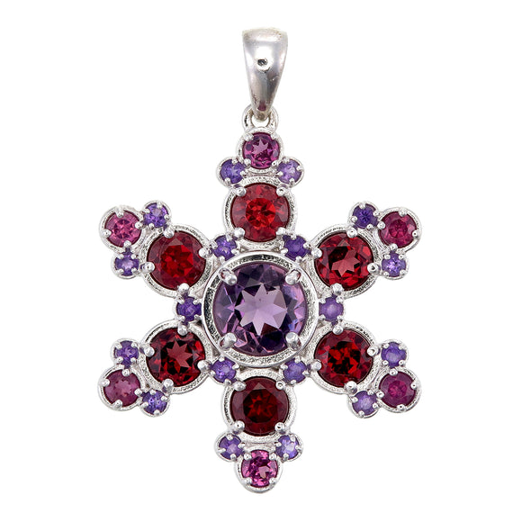 Squaw Valley Snowflake Pendant #3