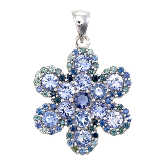 Heavenly Snowflake Pendant #8