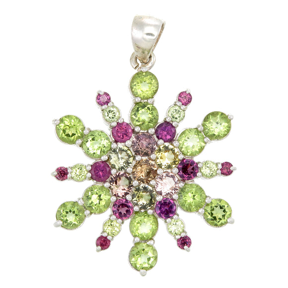 Crested Butte Snowflake Pendant #9