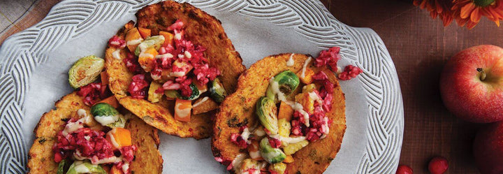 Fall Tacos with Apple Salsa