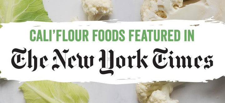 Cali'flour Foods in New York Times
