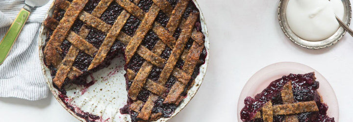 Low Carb Berry Pie