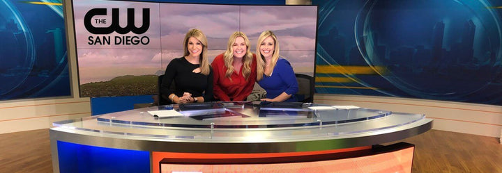 Amy Lacey Featured on The CW San Diego News 8
