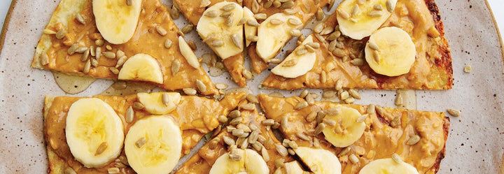 Nutty Nanner Pizza