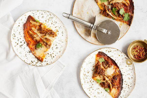 Carolina-Style Pulled Pork Pizza