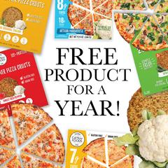 Free Cali'flour Foods Products for 1 Year