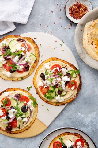 Flatbreads with Hummus
