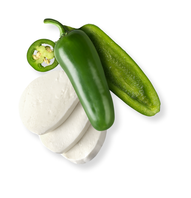 Jalapeño and Mozzarella Ingredients