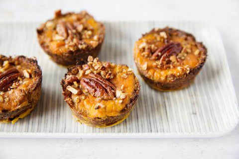 Mini Pumpkin Pecan Bites