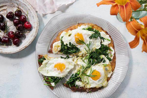 Sunny-Side Breakfast Pizza