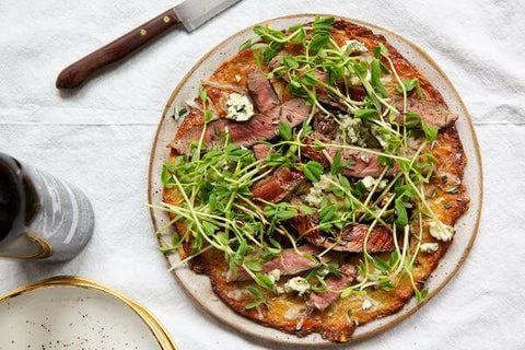 Balsamic Steak Pizza