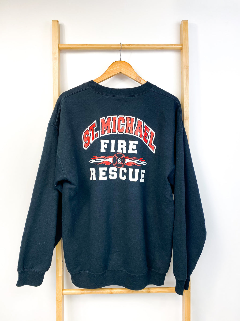 Vintage St. Michael Fire & Rescue Sweatshirt (L)