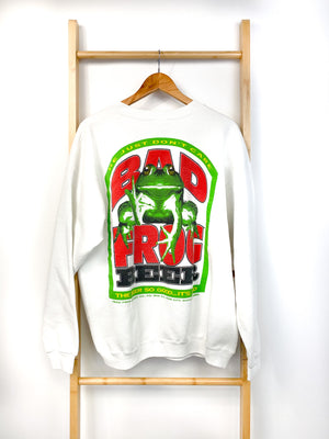 Vintage Bad Frog Beer Sweatshirt (XL)