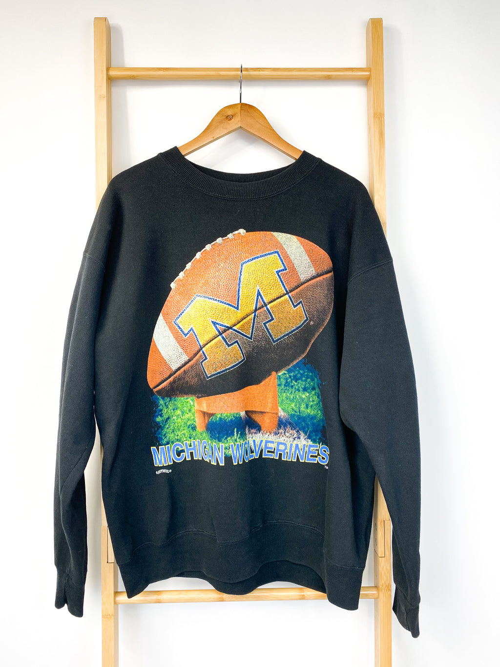 Vintage Michigan Wolverines Sweatshirt (XL)