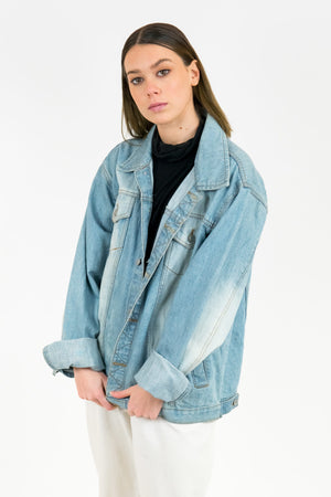 Vintage Denim Jacket / Size S-M