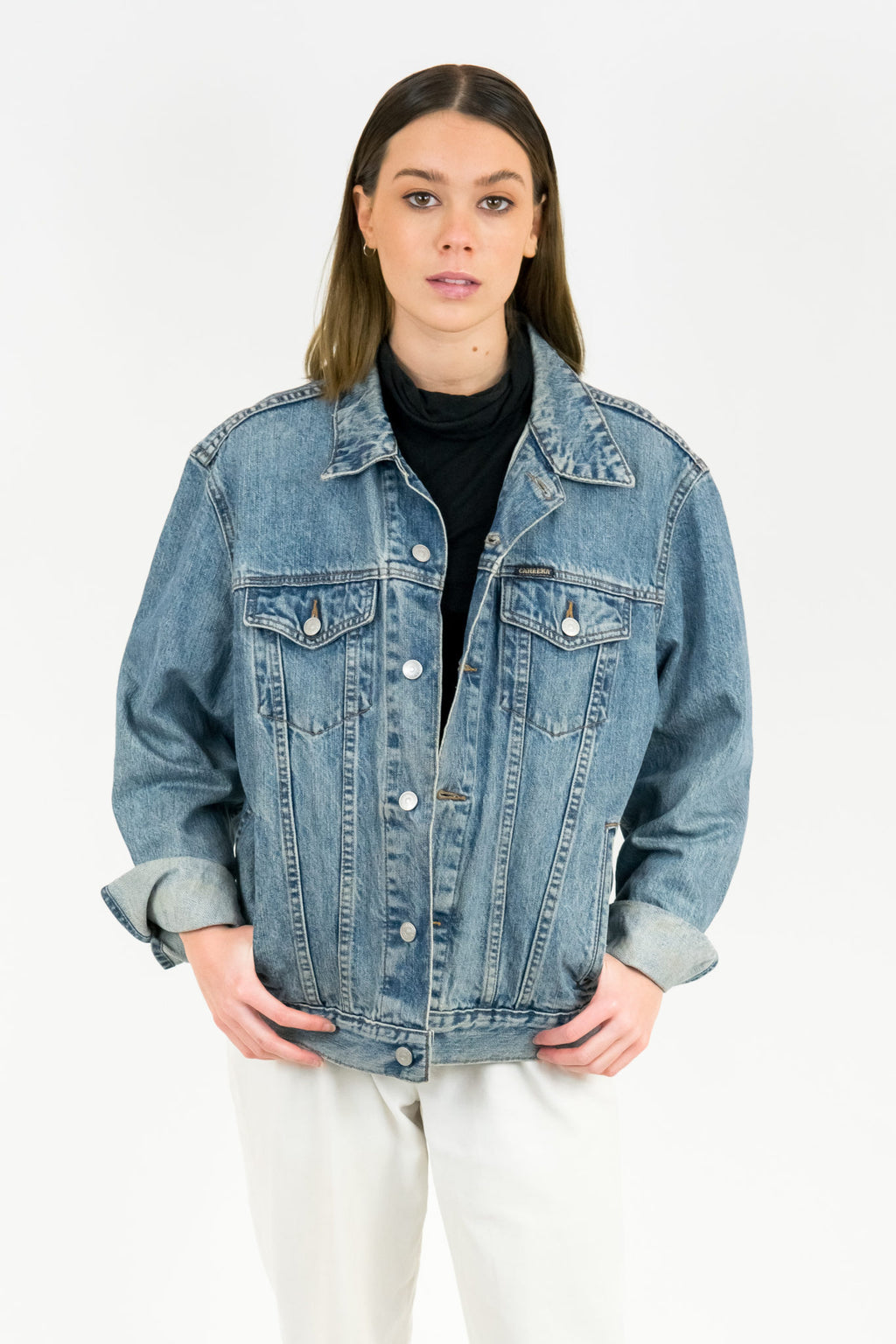 Vintage Carrera Denim Jacket / Size M