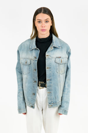 Vintage Pit Stop Denim Jacket