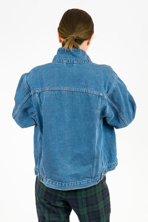 Vintage Denim Jacket / Size S