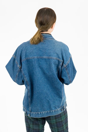 Vintage Denim Blues Jacket / Size