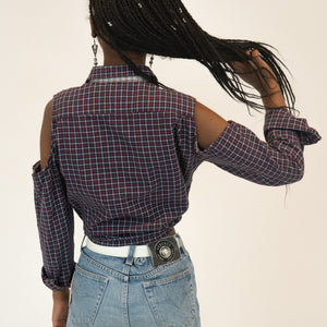 Vintage Tommy Hilfiger shoulderless top