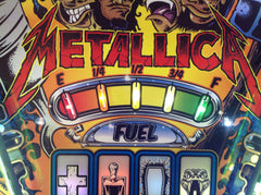 Metallica Pinball Playfield