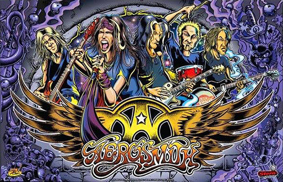 Aerosmith Pinball Interactive Under-cabinet Light Kit