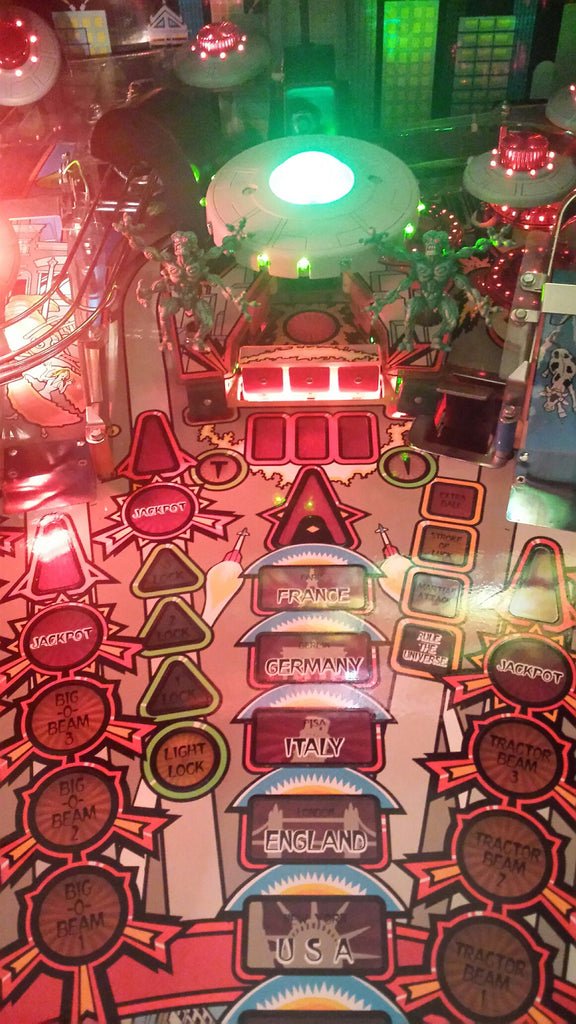Attack from Mars Pinball Illuminated Bank Target - Mezel Mods  - 2