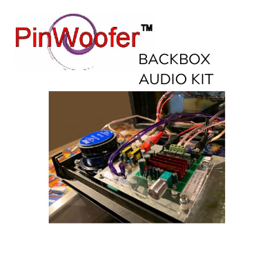 "PinWoofer 4"" Backbox Kit- Spike 2"