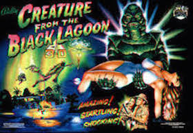 Creature from the Black Lagoon Pinball Interactive Under-cabinet Light Kit