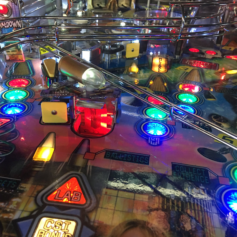 CSI Pinball Scoop Illumination