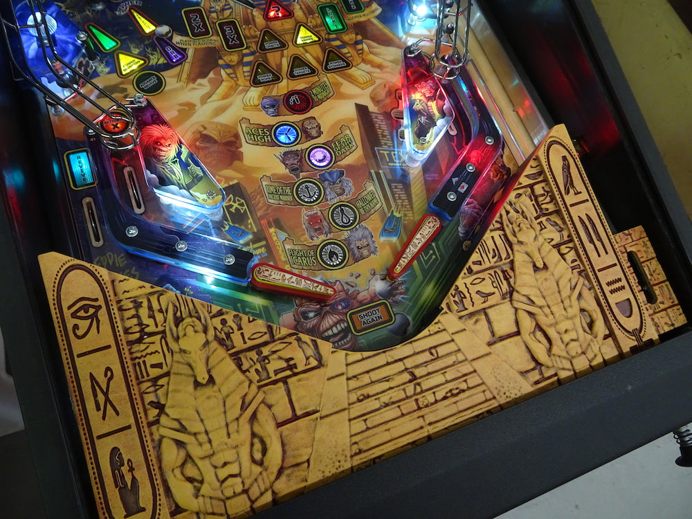 Iron Maiden Pinball Apron Upgrade