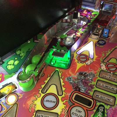 Ghostbusters Pinball Scoop LED - Mezel Mods  - 1