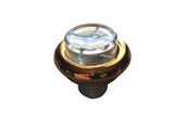 Pinball Gold Ring Button