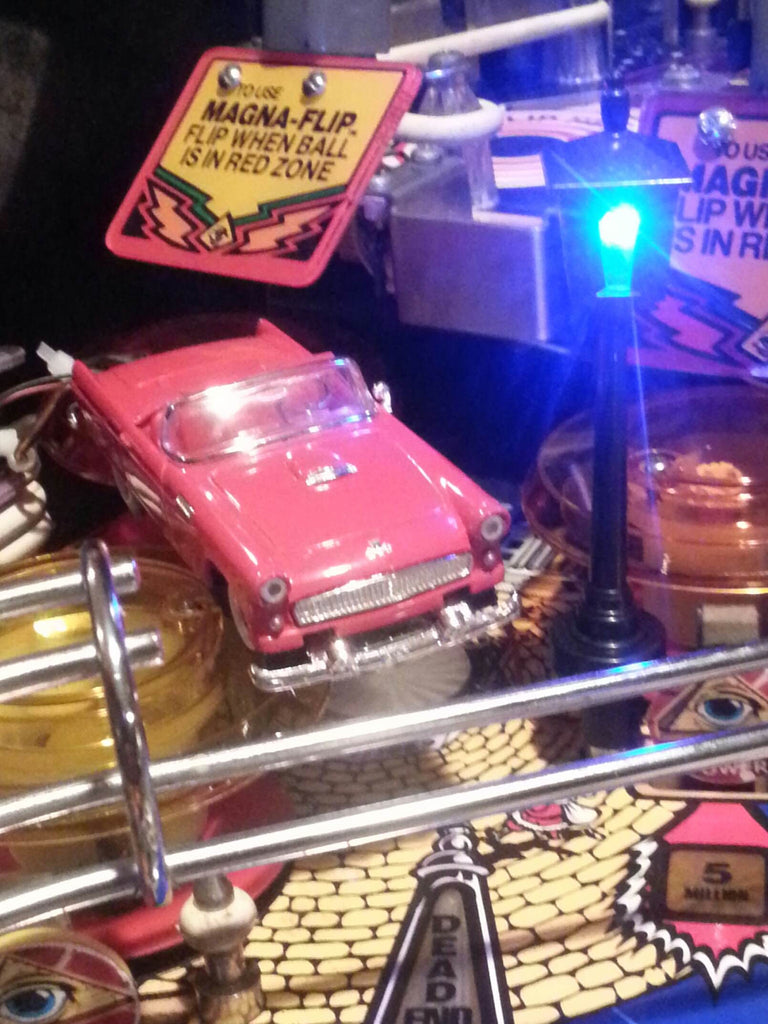 Twilight Zone Pinball Street Lamp - Mezel Mods  - 3