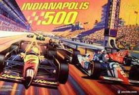 Indy 500 Pinball Interactive Under-cabinet Light Kit