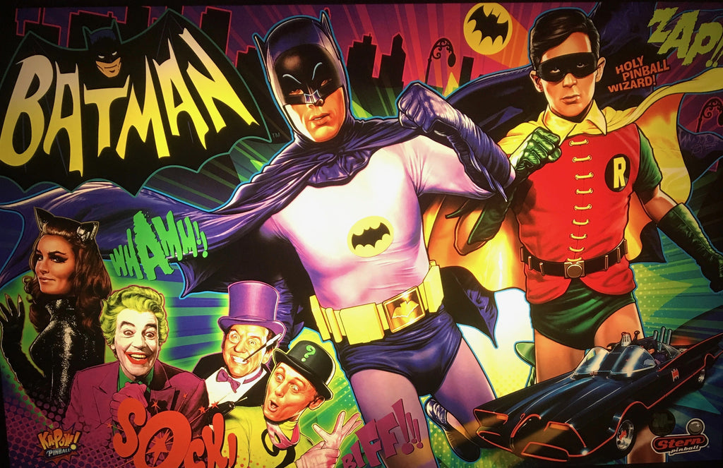 Batman 66 Pinball Interactive Under-cabinet Light Kit