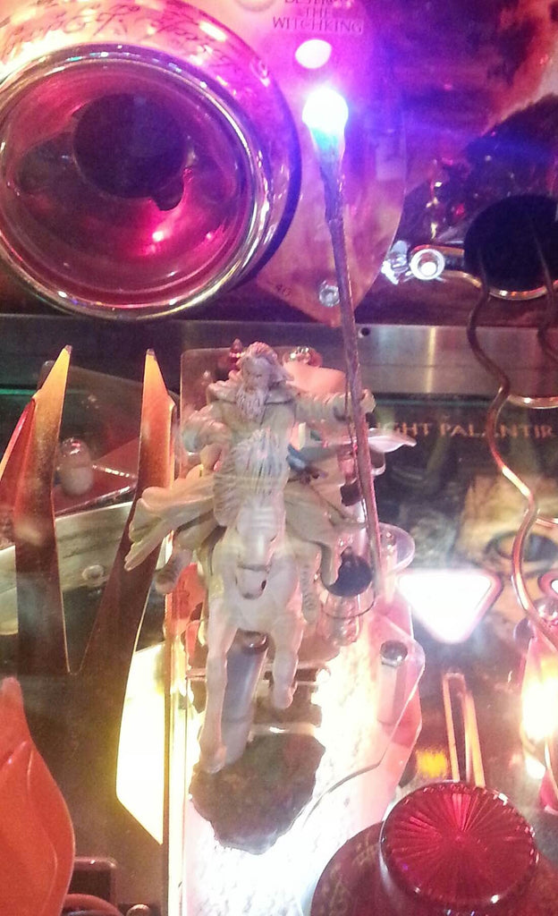 Lord of the Rings Pinball Gandalf Lighted Staff - Mezel Mods  - 2